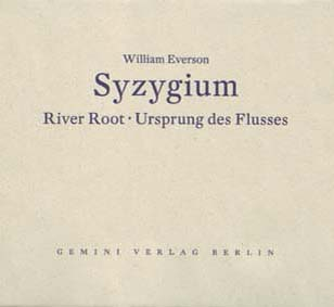 William Everson: Syzygium